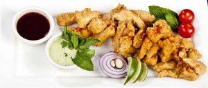 Pakora Vorspeisen @Vedis Indisches Restaurant
