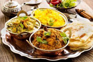 Exotische Speisen  @Vedis Indisches Restaurant